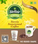 Stellar Instant Coffee Premix with Stevia Sweetener